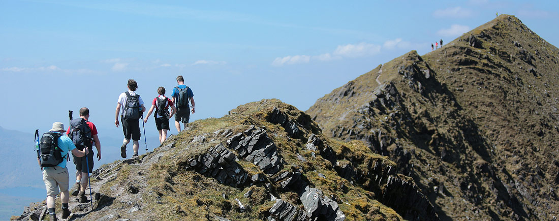 walkers-on-caher-ridge